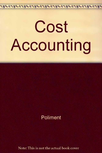 9780070105546: Cost Accounting