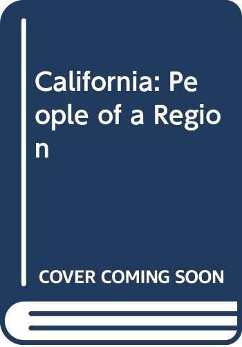 9780070105614: California: People of a Region