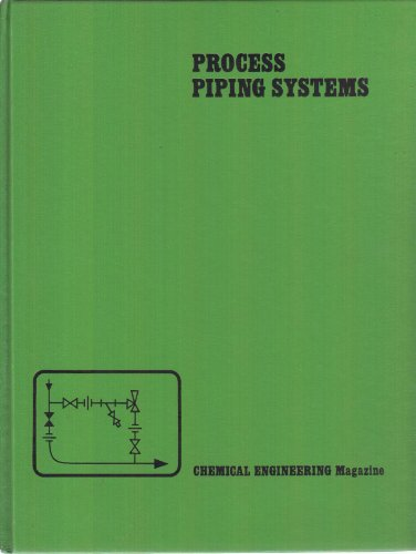 9780070107069: Process Piping Systems (Chemical Engineering)