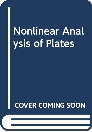 9780070107465: Nonlinear Analysis of Plates