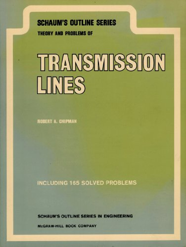 9780070107472: Transmission Lines (Schaum's Outline Series)