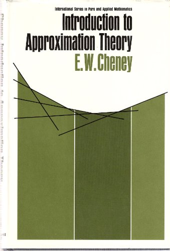 9780070107571: Introduction to Approximation Theory (Pure & Applied Mathematics)