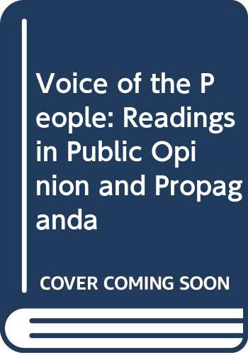 9780070107823: Voice of the People
