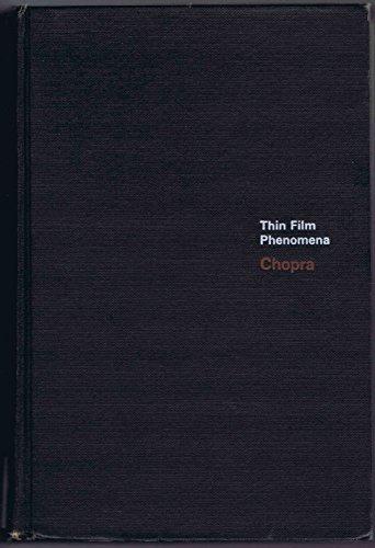 Thin Film Phenomena: K. L. Chopra