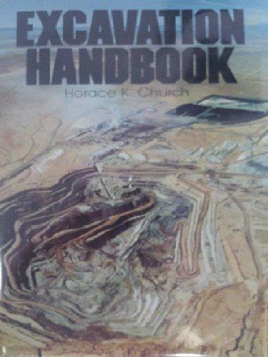 9780070108400: Excavation Handbook