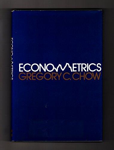 9780070108479: Econometrics (Economics handbook series)