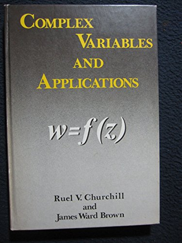 9780070108738: Complex Variables and Applications