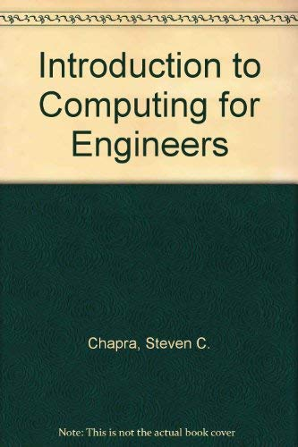 9780070108752: Introduction to Computing for Engineers