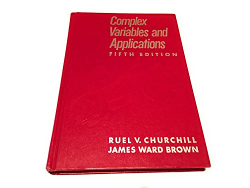 9780070109056: Complex Variables and Applications (Churchill-Brown Series)