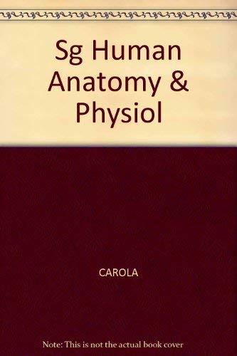 9780070109742: SG Human Anatomy & Physiol