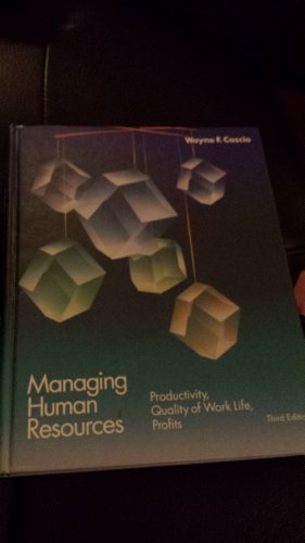 9780070109964: Managing Human Resources-Wb11 (McGraw-Hill series in management)