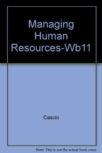 9780070110120: Managing Human Resources-Wb11