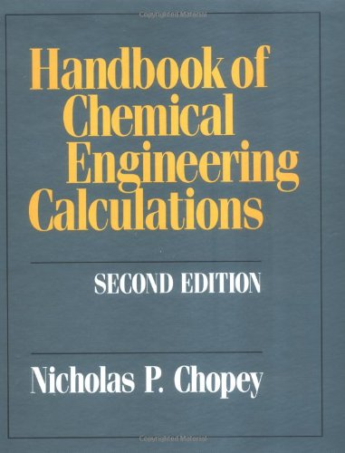 9780070110212: Handbook of Chemical Engineering Calculations