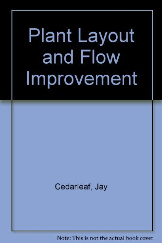 9780070110434: Plant Layout and Flow Improvement