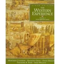 9780070110687: 1: The Western Experience: To the Eighteenth Century