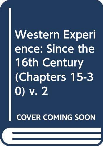 9780070110694: Western Experience (Western Experience Vol. 2)