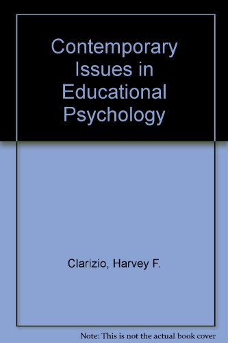 9780070111325: Contemporary Issues in Educational Psychology