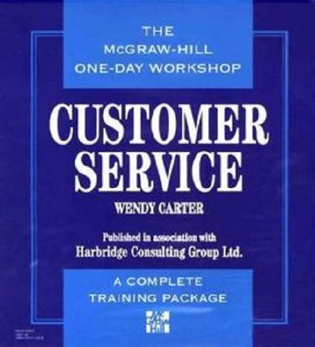 9780070111974: Customer Service: The McGraw-Hill One Day Workshop