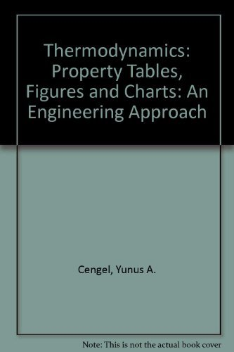 9780070112223: Thermodynamics: Property Tables Booklet T/A