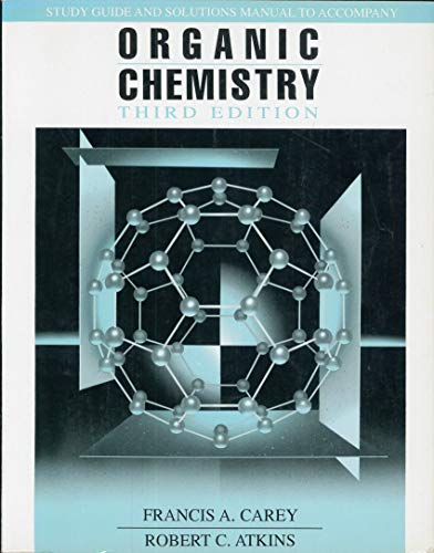 9780070112230: Study Guide and Solutions Manual to Accompany Organic Chemistry