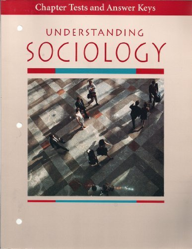 9780070112810: Chapter Tests and Answer Keys (Understanding Sociology)