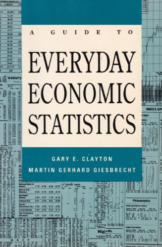 9780070112995: A guide to everyday economic statistics