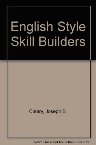 9780070113053: English Style Skill Builders