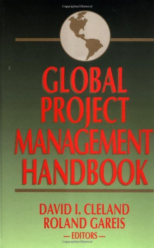 9780070113299: Global Project Management Handbook