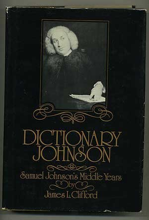 9780070113787: Dictionary Johnson : Samuel Johnson's middle years