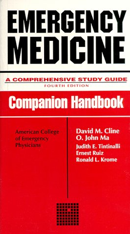 9780070114029: Emergency Medicine: Companion Handbook to 4r.e: A Comprehensive Study Guide (Companion handbooks series)