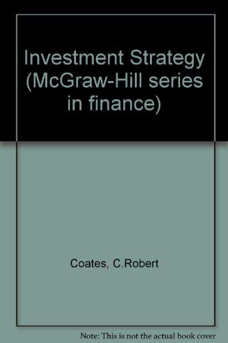 9780070114715: Investment Strategy (McGraw-Hill series in finance)