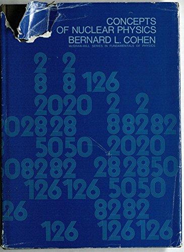 Concepts Of Nuclear Physics: Cohen, Bernard L.