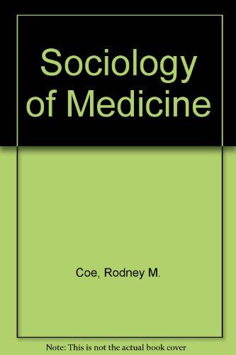9780070115606: Sociology of Medicine