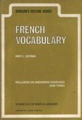9780070115613: Schaum's Outline of French Vocabulary (Schaum's Outline Series) (English and French Edition)