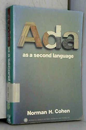 9780070115897: ADA as a Second Language (McGraw-Hill series in software engineering and technology)