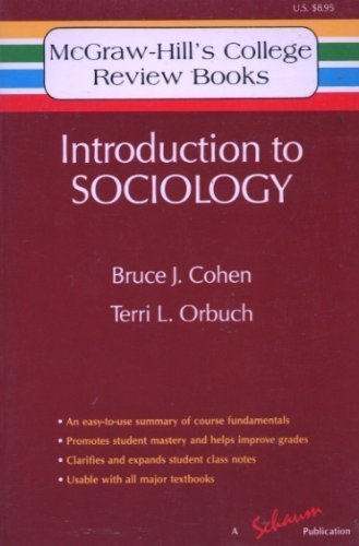 9780070115972: Introduction to Sociology (McGraw-Hill's College Review Books)