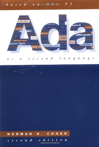9780070116078: Ada As A Second Language (McGraw-Hill Series in Computer Science)