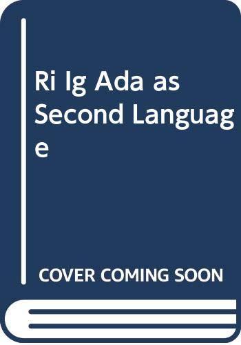 9780070116085: Ri Ig Ada as Second Language