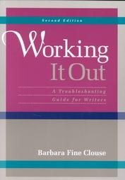 9780070116207: Working It Out: A Troubleshooting Guide for Writers