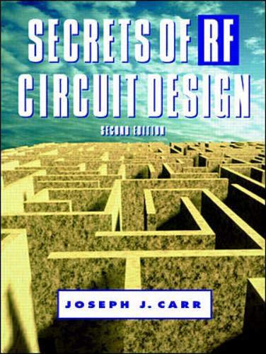 9780070116726: Secrets of RF Circuit Design