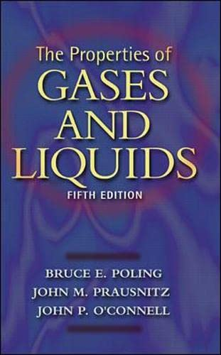 9780070116825: The Properties of Gases and Liquids 5E