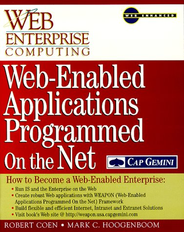 9780070117747: Web-Enabled Applications Programmed on the Net: How to Become a Web-Enabled Enterprise
