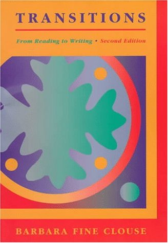 9780070118768: Transitions: From Reading to Writing