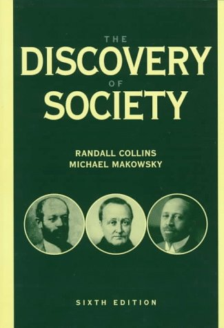 9780070118836: The Discovery of Society