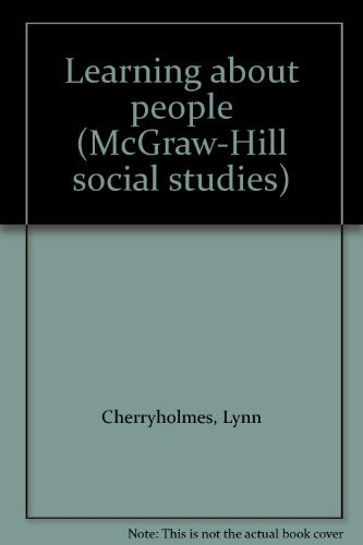 9780070119826: Learning about people (McGraw-Hill social studies)
