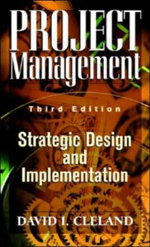 9780070120204: Project Management: Strategic Design and Implementation