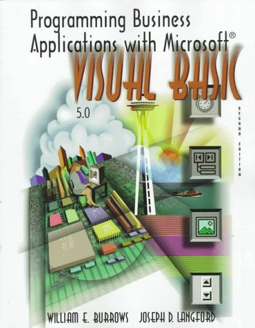 9780070121430: Programming Business Applications With Microsoft Visual Basic 5.0