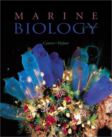 9780070121973: Marine Biology