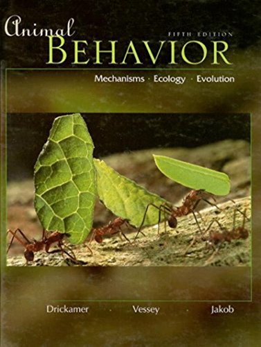9780070121997: Animal Behavior: Mechanisms, Ecology, Evolution
