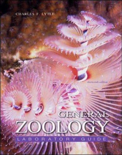 9780070122208: General Zoology Laboratory Manual